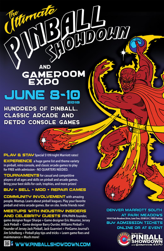Experience the Ultimate Pinball and Gamer Festival at the Rocky Mtn