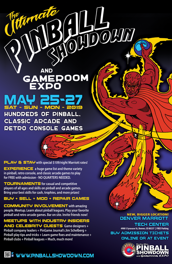 Experience the Ultimate Pinball and Gamer Festival at the